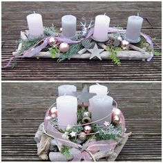 Find top offers for Advent wreath fresh or durable Model choice Color choice Christmas candles . Christmas Advent Wreath, Christmas Crafts, Christmas Decorations, Christmas Candle Holders, Christmas Candles, Christmas Flower Arrangements, Deco Table, Decoration Table, Table Centerpieces