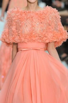 Details from Elie Saab Haute Couture Spring/Summer 2012.