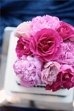 pink bouquet #LillyPulitzer #SouthernWeddings