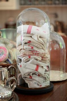 French vintage linen