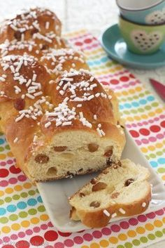 Croissants, Happiness Recipe, Tea Loaf, Delicious Desserts, Dessert Recipes, Torte Cake, Plum Cake, Bread And Pastries, Baking And Pastry