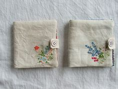 sprig needlebooks | made from vintage linen- part of my shop… | Flickr