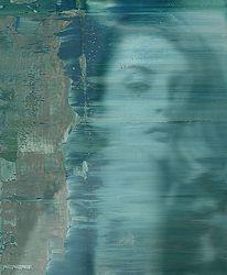 expectancy - 2012 - andré schmucki - oil on canvas - 100cm x 80cm x 2cm
