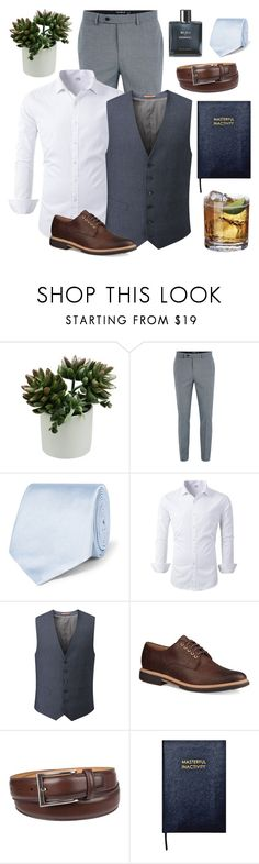 """Business & Chic"" by lysianna ❤ liked on Polyvore featuring Topman, Tom Ford, Skopes, UGG, Chaps, Sloane Stationery, Chanel, modern, men's fashion and menswear"