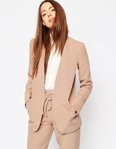 ASOS+Clean+Luxe+Suit+Blazer+with+Tie