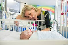 From Leed Teaching Hospitals NHS Trust Facebook page-The Countess of Wessex, patron, visited the hospital, July 3, 2014.  Here Sophie visits a young patient.