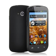 Breeze - Budget 3G Android Phone (4 Inch Screen, Snapdragon 1GHz Dual Core CPU, Black)
