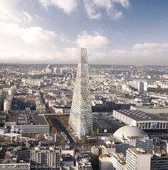 Herzog de Meuron's Triangle Tower Design Raises Eyebrows in Paris ...