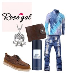 """""""Win $20 Cash from Rosegal!     3. Description: (1)Add 3+ hashtags(#)that best describe the set"""" by shannongarner ❤ liked on Polyvore featuring David Beckham, men's fashion and menswear"""
