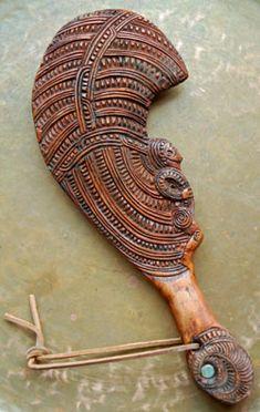 Maori Warclub - New Zealand ....