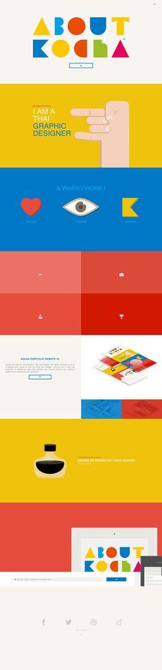 Kocha One Page Website Design #onepagewebsites #singlepagewebdesign #responsivedesign