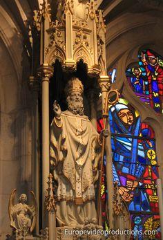 Basilique de Saint-Nicolas-de-Port en Lorraine en France