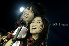 Shania Junianatha and Melody Nurramdhani #JKT48