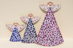 Lily Mosaics - Angels in three sizes