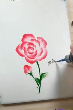 Also Checkout Amazing Painting Tools that You Can Also Buy Online Watercolor Painting Techniques, Painting Tools, Drawing Techniques, Painting & Drawing, Watercolor Paintings, Easy Flower Painting, Flower Painting Canvas, Cool Paintings, Beautiful Paintings