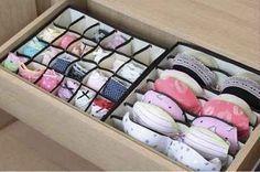 Un organizador para el caj�n de lencer�a te permitir�mantener tu ropa �ntima de forma correcta y ordenada. | 53 trucos para organizar la ropa que te van a cambiar la vida de verdad