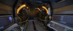 gundam interior concept - Google Search