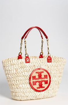 I believe every woman should have a straw bag for the summer.  I just ordered this Tory Burch 'Audrey' Tote and can't wait for it to arrive at my doorstep.
