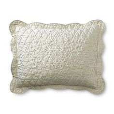 1000 Images About White Quilted Pillow Shams On Pinterest
