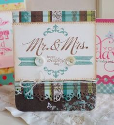 love that patterned paper!