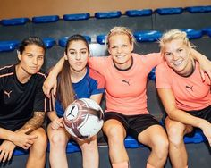 "Ada Stolsmo Hegerberg on Instagram: ""Tournament fever! Me, @els_9_france and @10maro10ake on panna genius @LisaFreestyle this week for a set of challenges. Check @LisaFreestyle…"""