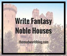 Struggling noble houses are a fantasy trope, so you want to create a few for your fantasy story. For fantasy fiction and roleplaying games like Dungeons and Dragons. DIY is the way to go.