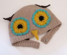Adorable owl hat for kids $50
