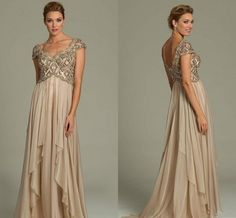 Cheap mothers mother, Buy Quality groom mother directly from China mother of groom dress Suppliers: Cheap Groom 2017 Mother of The Bride Dresses Champagne Gold Crystal Beads Formal Suits Evening Gowns Short Sleeves Backless Mother Of The Bride Dresses Long, Mothers Dresses, Formal Dresses For Women, Formal Evening Dresses, Evening Gowns, Formal Suits, Cheap Wedding Dress, Designer Wedding Dresses, Cheap Dresses