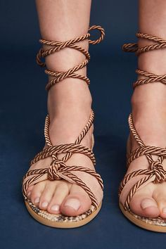4312a14b241 Elysess Rope Gladiator Sandals
