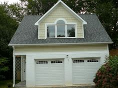 Matching window on garage