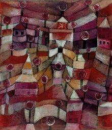 Paul Klee - Rosengarten/Roseraie, 1920 - Städtische Galerie im Lenbachhaus und Kunstbau München - Au Centre Pompidou, Paris jusqu'au 01/08/16