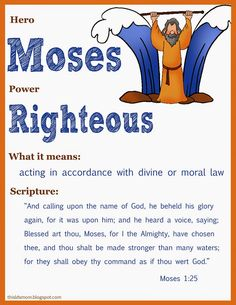 """This LDS Mom: Scripture Heroes ... she has a bunch of these cards for heroes in the scriptures and what their """"power"""" is"""