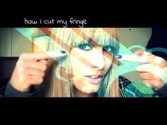 How I Cut My Fringe | MichelaIsMyName ♥