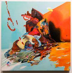 "Rachel Rossin, ""Majorasmask"" - Exhibition ""The Unframed World. Virtual Reality as artistic medium for the 21st century"" from 18 January to 5 March 2018 HeK, Basil, Switzerland Curator: Tina Sauerlaender  With works by: Li Alin (CANADA/GERMANY), Banz & Bowinkel (GERMANY), Fragment.In (SWITZERLAND), Martha Hipley (US), Rindon Johnson (US), Marc Lee (SWITZERLAND), Mélodie Mousset & Naëm Baron (FRANCE/SWITZERLAND), Rachel Rossin (US), Alfredo Salazar-Caro (US)  Images: Courtesy of HeK"