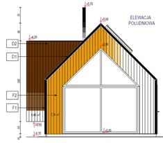 elewacje domów nowoczesnych House Extension Design, Extension Designs, House Design, House Extensions, Small Spaces, Cabin, Building, Furniture, Home Decor