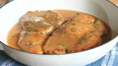 Chicken Breast with Chipotle Green Onion Gravy. Recipe includes video tutorial (Low Carb)
