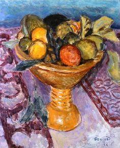 Pierre Bonnard -Le Compotier – The Fruit Bowl