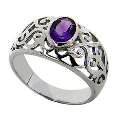 Hey, I found this really awesome Etsy listing at http://www.etsy.com/listing/111720432/amethyst-sterling-silver-women-ring-oval