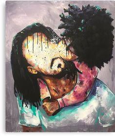 The Modern Art Movements – Buy Abstract Art Right Black Art Painting, Black Artwork, Couple Painting, Black Love Art, Black Girl Art, Black Girls, African American Art, African Art, American Women