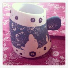 Totoro cup, studio ghibli