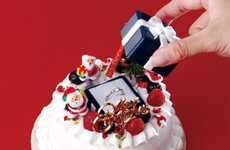 Question-Popping Holiday Cakes  #proposals