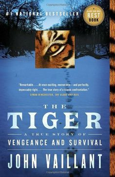Vaillant  brilliantly uses the core story to explore the sociological, anthropological, political, biological, and environmental aspects that have an influence on the basic story. The reader learns about the region's history and biology, the place of the Siberian tiger in nature, superstition, and the lives of the people who live in the area. A true story!