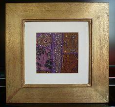 The Furniture Divas Framed Saree Fabric
