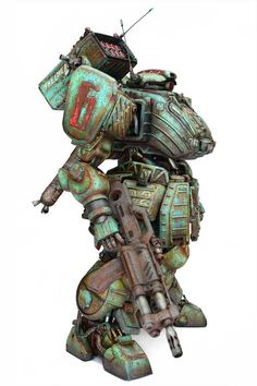 Fatty Tho Mecha Suit, Robots Characters, Sci Fi Models, Mecha Anime, Conceptual Design, Red Army, Cyberpunk, Retro Futurism, Art Model