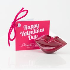 A Valentines Message Card to personalise a   box of chocolates this Valentines Day