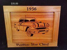 1956 Pontiac Star chief by Rickswoodworks1 on Etsy