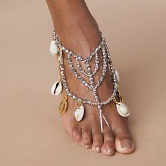 Anklet Charms from ASHRO  How hard would it to be to make a copycat? |Pinned from PinTo for iPad|