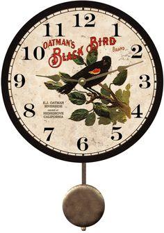 blackbird-clock