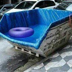 Alugo piscina!  Deixo na Sexta e retiro no Domingo!! *PROMOÇÃO* R$ 280,00