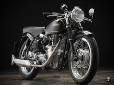 Spirit of '69: the Velocette Thruxton. Old school cool from Southsiders MC.